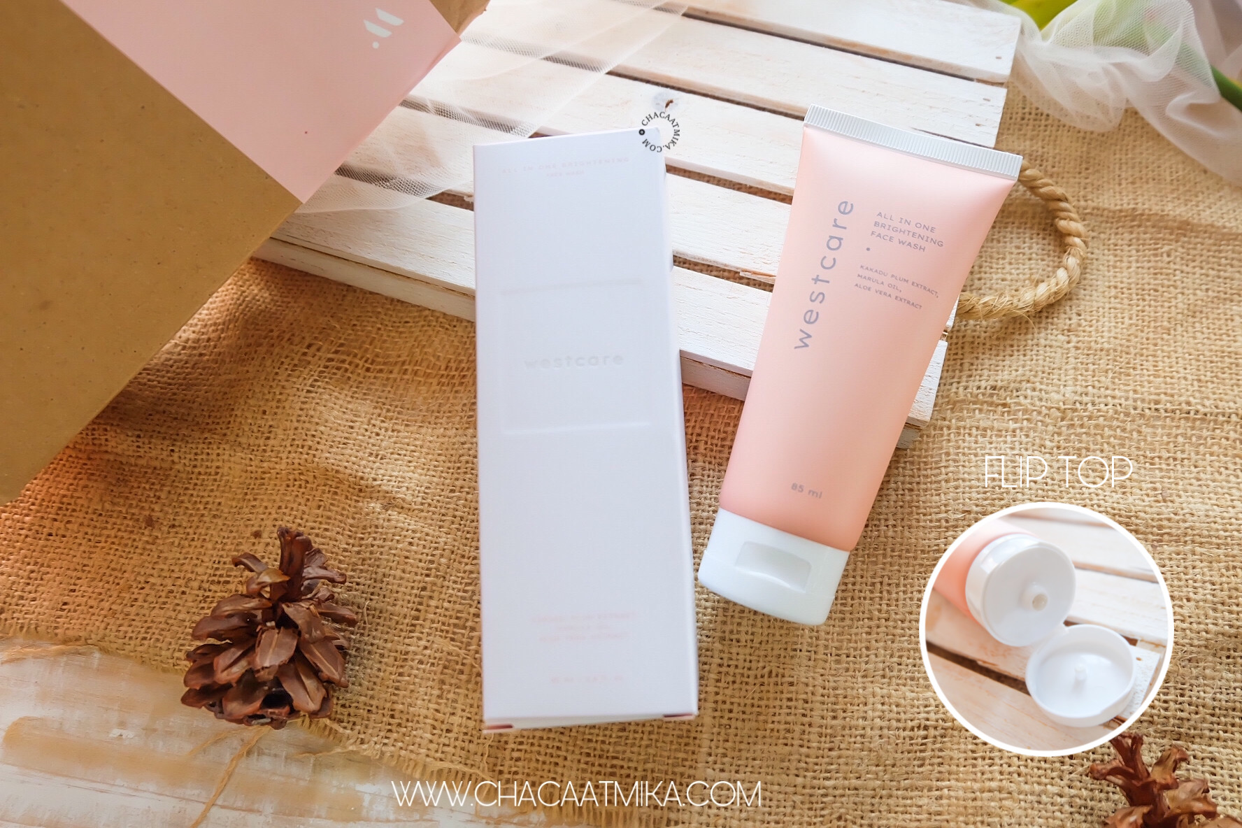 Review: Westcare All in One Brightening Facewash