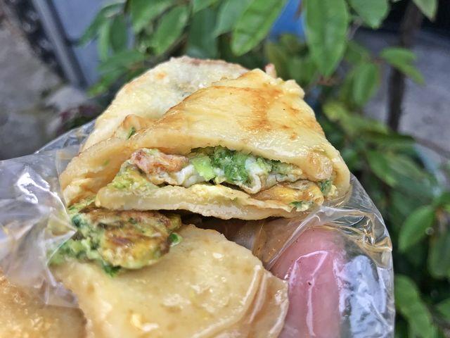 芝山蛋餅~台北捷運芝山站素食早餐