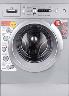 Bosch 7 kgFully-Automatic Front Loading Washing Machine (WAK24268IN, silver/grey, InbuiltHeater)