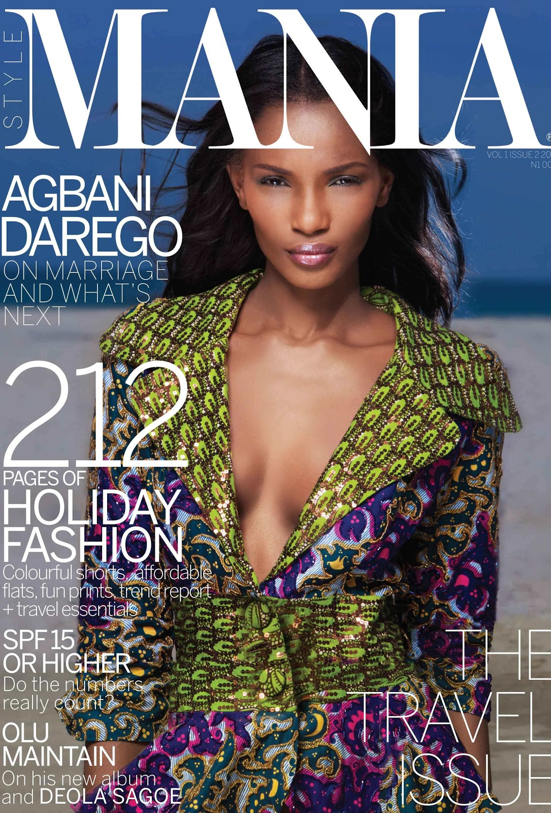 Welcome To Linda Ikeji 39 S Blog Agbani Darego Covers Mania Magazine