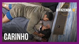 A Fazenda 12 – Jakelyne e Mariano dormem juntos – Peões criam dinâmica