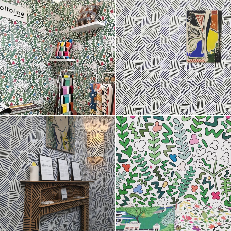 Decorex highlights, LDF, Interior design, interiors trends, hello peagreen, wallpaper