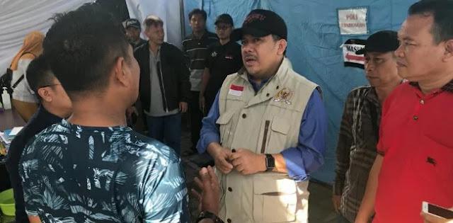 Fahri: Segera Bentuk Badan Rehabilitasi Gempa