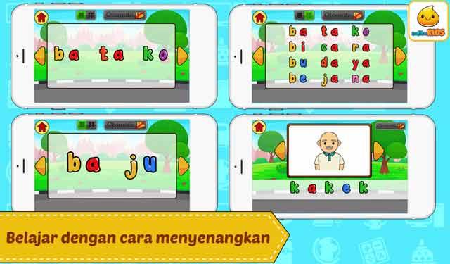Game Edukasi Belajar Membaca Lancar