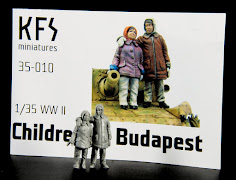 Construction Review: 1/35th scale Children Of Budapest from KFS Miniatures