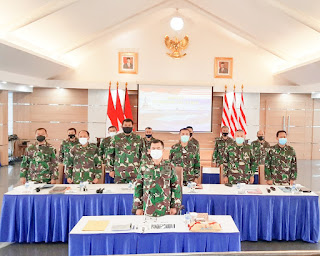 Pangkoarmada II Ikuti Rakor Renaku II UO TNI AL Tahun 2020