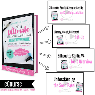 silhouette guide, silhouette book, silhouette for dummies, silhouette ecourse, ultimate silhouette guide