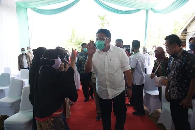 Faridah Enggriani : Terimokasih Banyak Pak Gubernur Sudah Bangunkan Lagi Rumahku