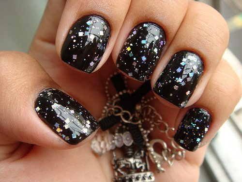 Happy New Year 2018 Nail Designs
