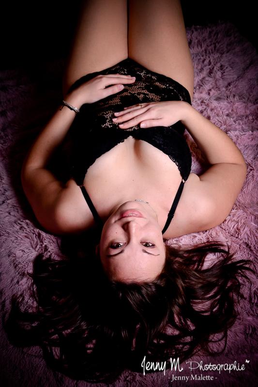 Photographe boudoir portrait femme studio la mothe achard, moutiers les mauxfaits
