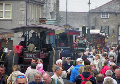 Camborne celebrates Trevithick, the inventor of the steam train