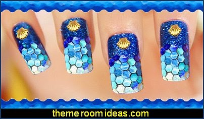 glitter nail glitter nail sticker decals-nail design