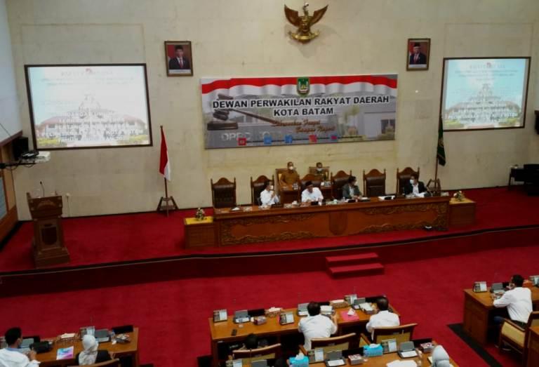 Ranperda RPP APBD Batam 2020, Berikut Jawaban Walikota Atas Pandangan Fraksi DPRD