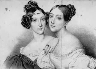 Giulia Grisi (right), with her sister Giuditta