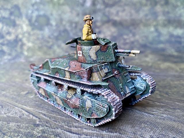Company B 28mm IJA Type 89 I-Go Tank for Bolt Action