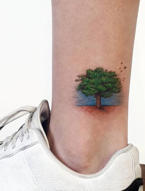 Mini tatuagens femininas super fofinhas