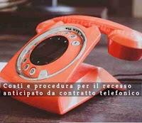 recesso contratto telefonico
