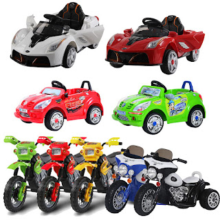 BIG OFFERS Electric Ride on Car Motorbike Tricycle Kids Ride On Car Children Walker Battery –  £54.99