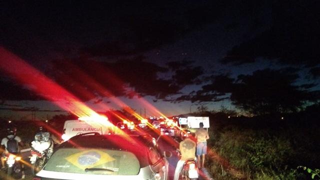 Perseguição e troca de tiros é registrada no inicio da noite desta sexta-feira, 31/07 em Patos