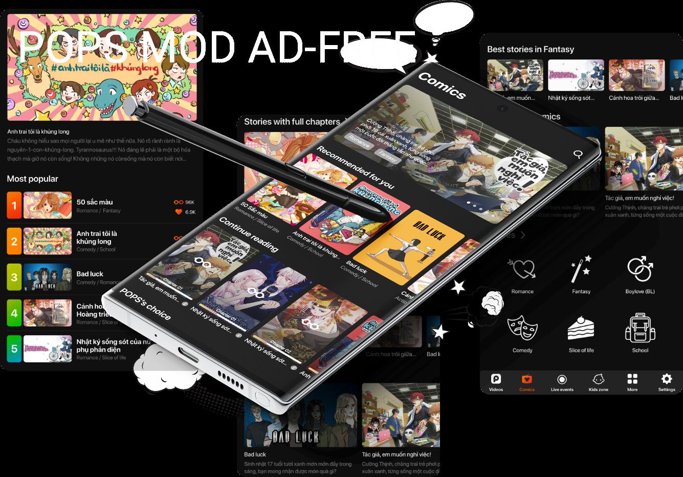 pops, pops adfree, pops mod, pops apk, ứng dụng pops, pops mod adfree, tải pops, tải ứng dụng pops