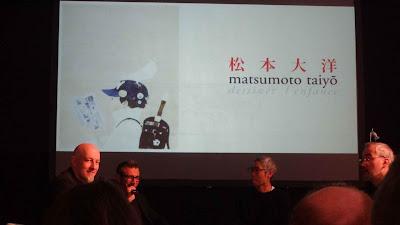 Taiyo Matsumoto conférence Angoulême 2019