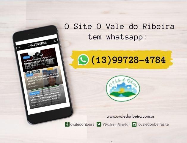 Whatsapp: (13) 997284784