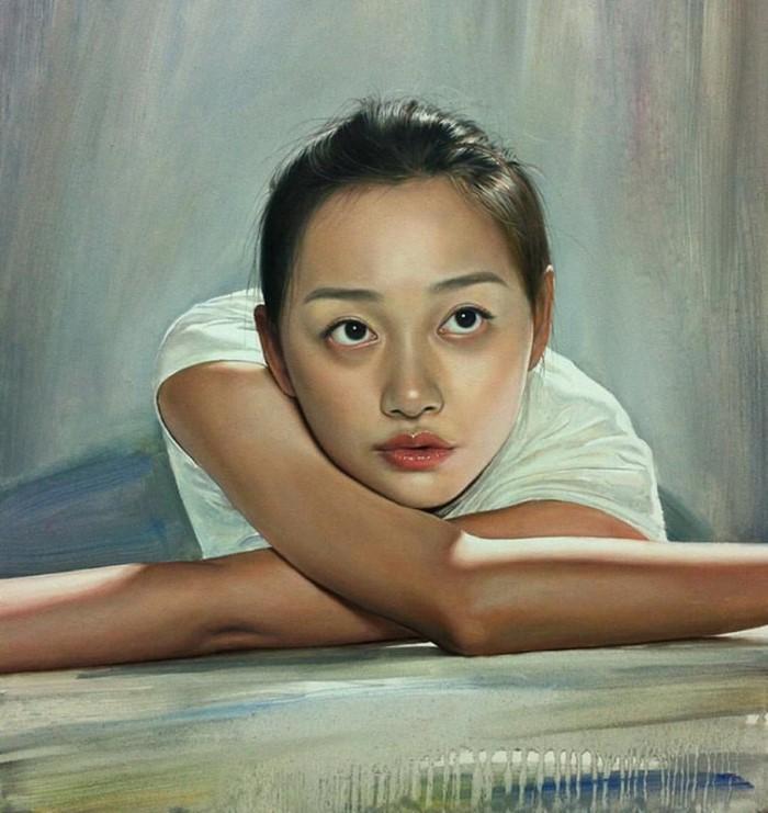 Китайский художник. Wang Niandong