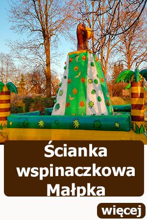 dmuchana scianka wspinaczkowa, atrakcje dla dzieci, dmuchańce wrocław, piknik, festyn , urodziny