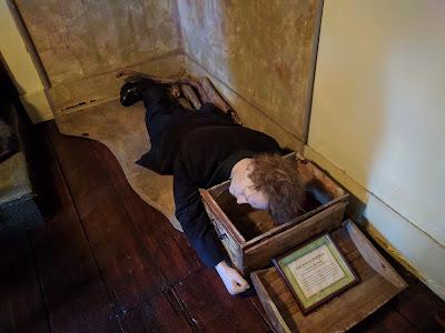 Восковые фигуры в музее Шерлока Холмса