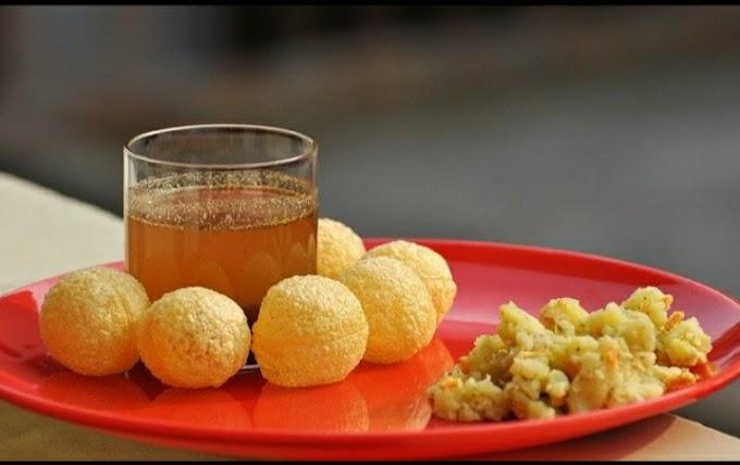 Pani Puri Recipe In Hindi घर में बाज़ार जैसी पानी पूरी कैसे बनाए