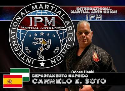 Director Nacional e Internacional del Departamento de HAPKIDO de la  International Police & Military (IPM) & Martial Arts Union