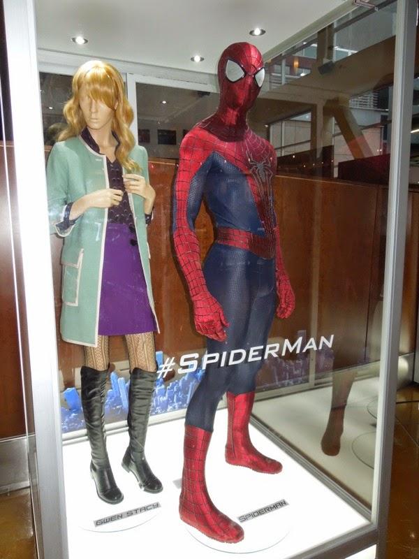 find costumes amazing spider man movie
