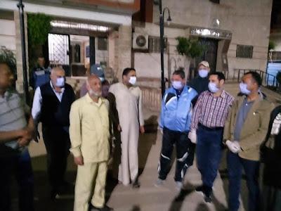 أهالي كفر الشيخ يستقبلون متعافي فيروس كورونا بمركز بيلا بالزغتريد والأفراح