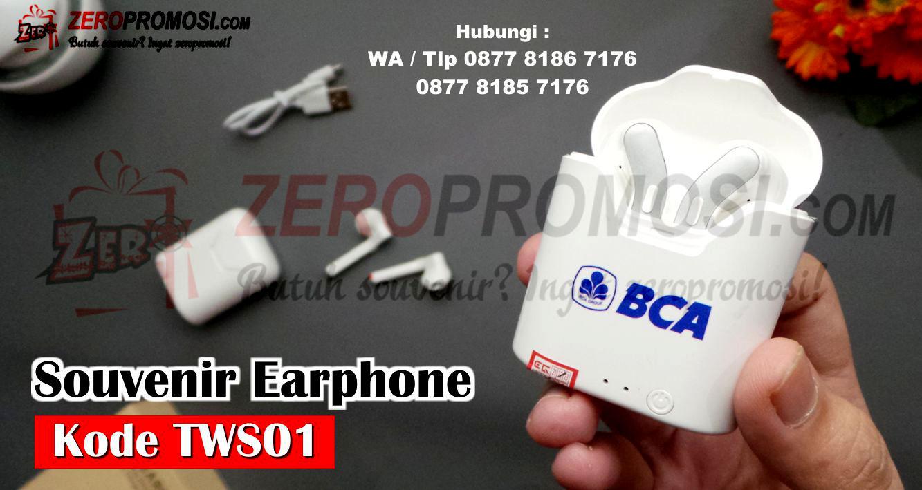 TWS Headset Bluetooth Wireless Sport True Wireless Stereo Earphone, Earphone Bluetooth TWS01, TWS Earbuds with Power Case kode TWS01, Earphone Bluetooth Kode TWS01 Custom Logo, True Wireless Stereo Earbuds, Custom Logo Wireless Earbuds TWS01