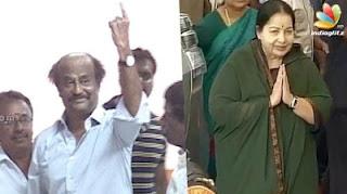 Rajinikanth and Jayalalitha cast their vote at Stella Maris College | Tamil Nadu Election 2016