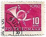 Selo Post Horn, 10 Bani
