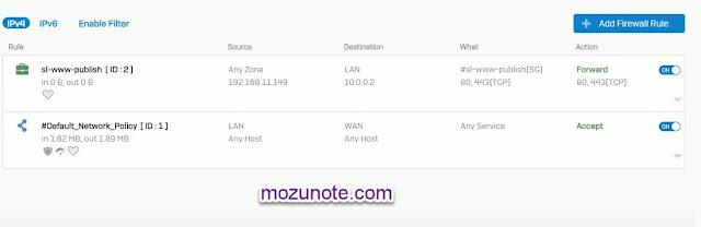 Cara Mudah Konfigurasi IP port Forwarding Menggunakan Sophos