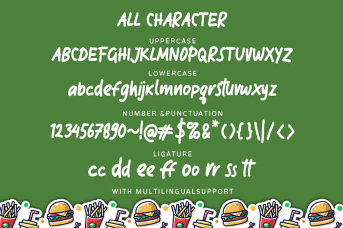 Klefont Mooncrat Font.