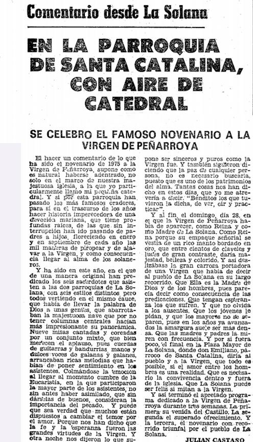 Aromas de pasion en la parroquia de santa catalina con - Parroquia santa catalina la solana ...