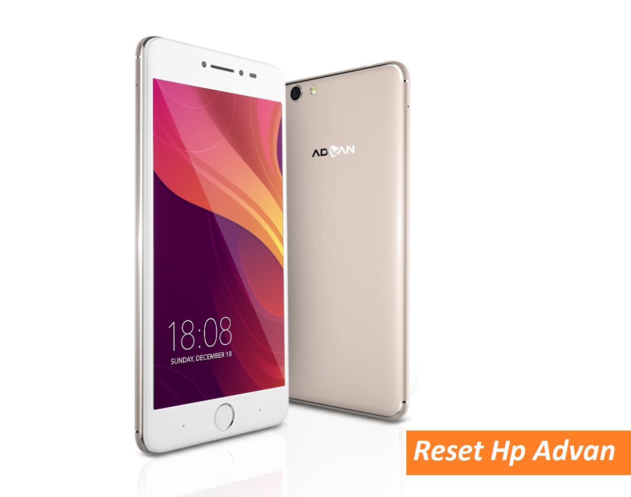 cara hard reset hp advan factory reset