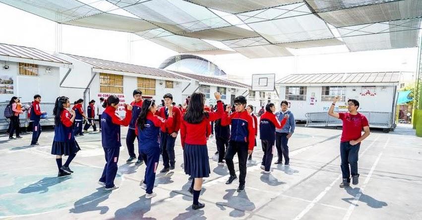PRONIED: Estudiantes de la IE Jorge Basadre Grohmann mejoraron sus aprendizajes con instalación de módulos educativos - www.pronied.gob.pe