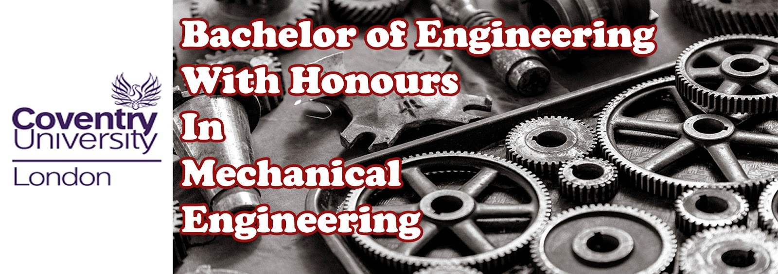 Bachelor Of Engineering With Honours In Mechanical Engineering | University of Coventry | PSB Academy Singapura