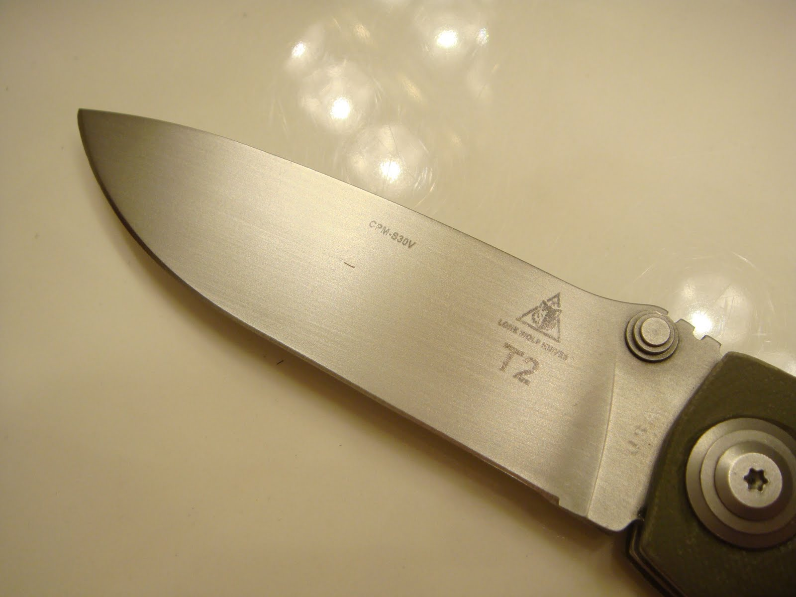 Will Moon Custom Knives: New Knife Completion: Lone Wolf T2 in OD