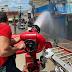 Corpo de Bombeiros é acionado para ocorrência de incêndio no centro de Cajazeiras