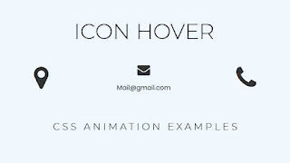 icon hover effect