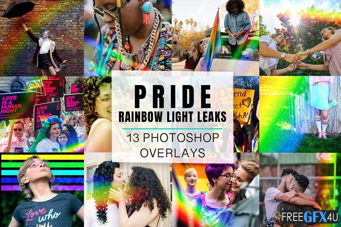 Rainbow Overlays Free Download