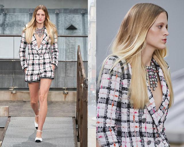 Chanel показ моды весна-лето 2020 3
