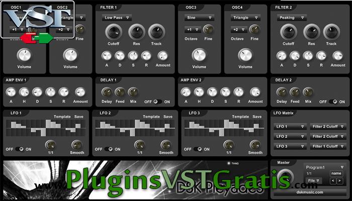 DSK PleyadeS - Plugin VST Sintetizador Grátis
