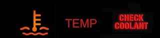 ضوء تحذير درجه الحرارة