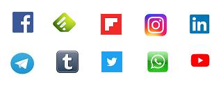 Como seguir a rioMoros en las redes sociales